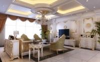 Condo Living Room 241 3D Model