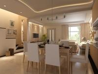 Condo Living Room 243 3D Model