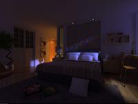 Condo Living Room 251 3D Model