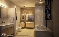 Condo Living Room 256 3D Model