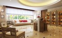 Condo Living Room 259 3D Model
