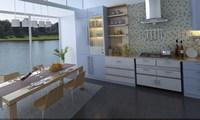 Condo Living Room 261 3D Model