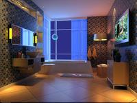Condo Living Room 262 3D Model