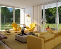 Condo Living Room 263 3D Model