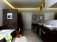 Condo Living Room 265 3D Model