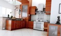 Condo Living Room 267 3D Model