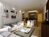 Condo Living Room 269 3D Model