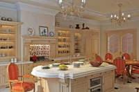 Condo Living Room 278 3D Model