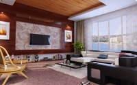 Condo Living Room 279 3D Model