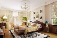 Condo Living Room 282 3D Model