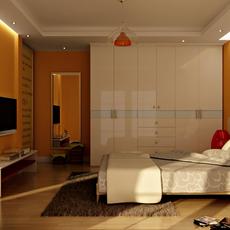 Condo Living Room 291 3D Model