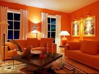 Condo Living Room 292 3D Model