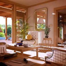 Condo Living Room 298 3D Model