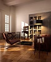 Condo Living Room 301 3D Model