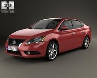 Nissan Pulsar (Sentra) 2014 3D Model