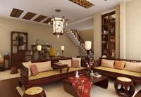 Condo Living Room 304 3D Model