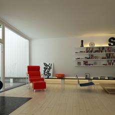 Condo Living Room 315 3D Model