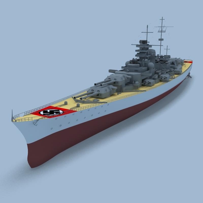 Bismarck Bitevn Bismarck German Bismarck Class