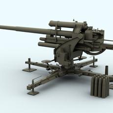 Flak 88 3D Model