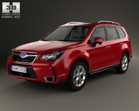 Subaru Forester (US) 2014 3D Model