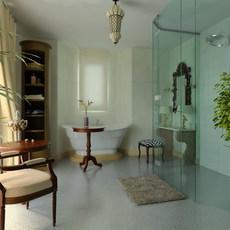 Condo Living Room 323 3D Model