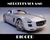 Mercedes SLS AMG 3D Model
