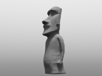 Roy Easter Island Statue 3D Model