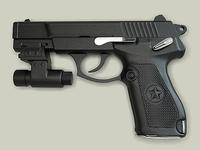 China 92 pistol 3D Model