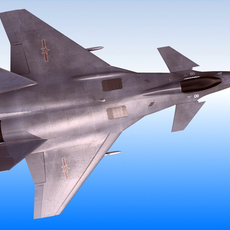 Chinese Air Force J-14 Fighter 3D Model