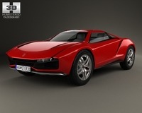 Italdesign Giugiaro Parcour 2013 3D Model