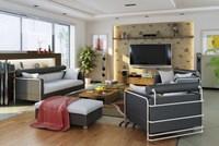 Condo Living Room 327 3D Model