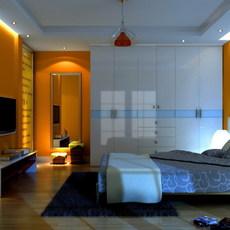 Condo Living Room 328 3D Model