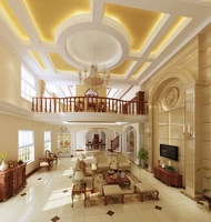 Condo Living Room 331 3D Model