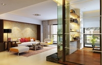 Condo Living Room 333 3D Model