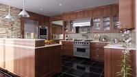 Condo Living Room 339 3D Model