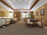 Condo Living Room 341 3D Model