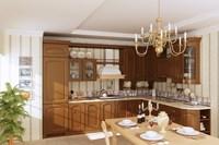 Condo Living Room 343 3D Model