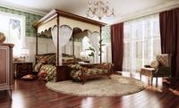 Condo Living Room 362 3D Model