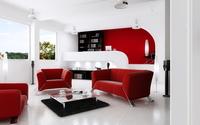 Condo Living Room 369 3D Model
