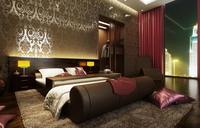 Condo Living Room 371 3D Model