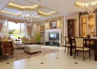 Condo Living Room 374 3D Model