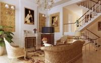 Condo Living Room 384 3D Model