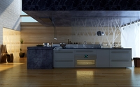 Condo Living Room 385 3D Model