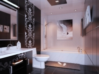Condo Living Room 386 3D Model