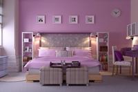 Condo Living Room 389 3D Model