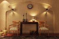 Condo Living Room 390 3D Model