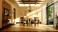 Condo Living Room 398 3D Model