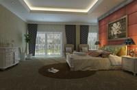 Condo Living Room 406 3D Model