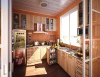Condo Living Room 408 3D Model