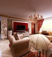 Condo Living Room 422 3D Model